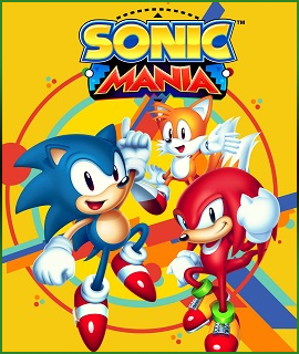 Link. Boxart for Sonic Mania that links to the game page.